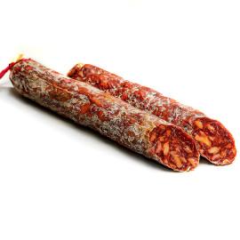 """Chorizo vela de Bellota 100% Ibérico """"Encinares del Sur"""" pieza de 400 gr aprox"""