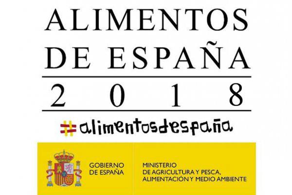 Premio Alimentos de España 2018 al Mejor Jamón de Bellota Ibérico